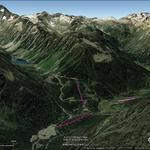 Vistas Google Earth Cauterets -Pont d' Espagne- 2016-17