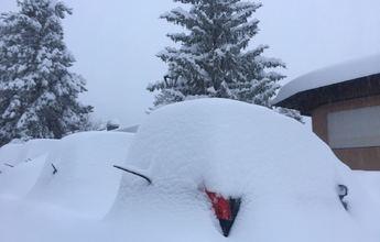 La nevada deja en las pistas de la Cerdanya un metro de nieve