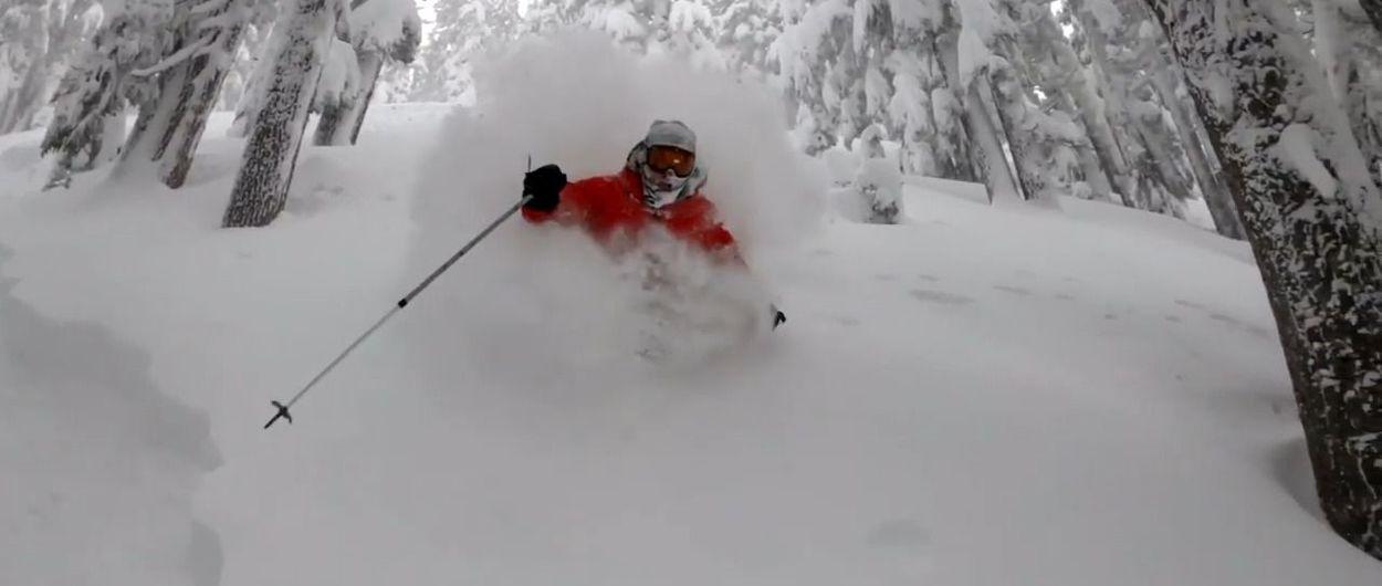 Mt. Hood Meadows, primera estación de esquí del mundo que supera los 5 metros de nieve