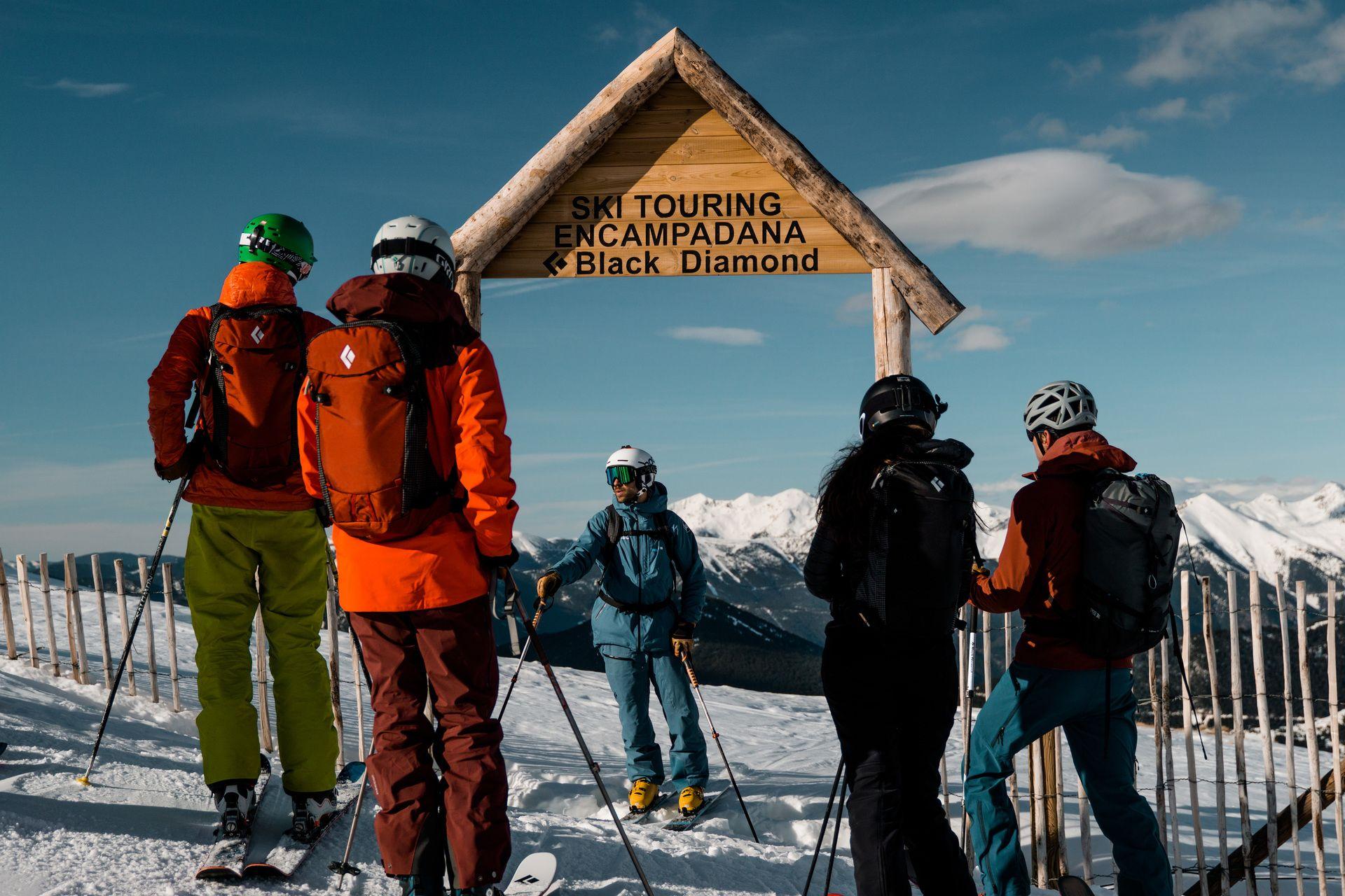 Area Ski Touring Encampanada