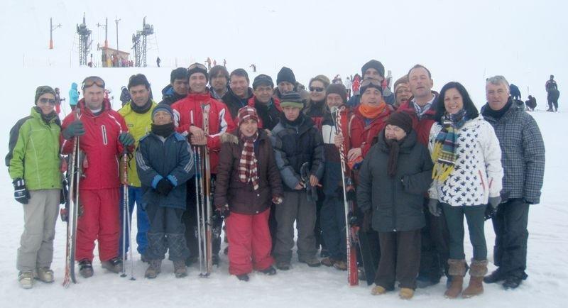 Fotografía de grupo de los asistentes al programa