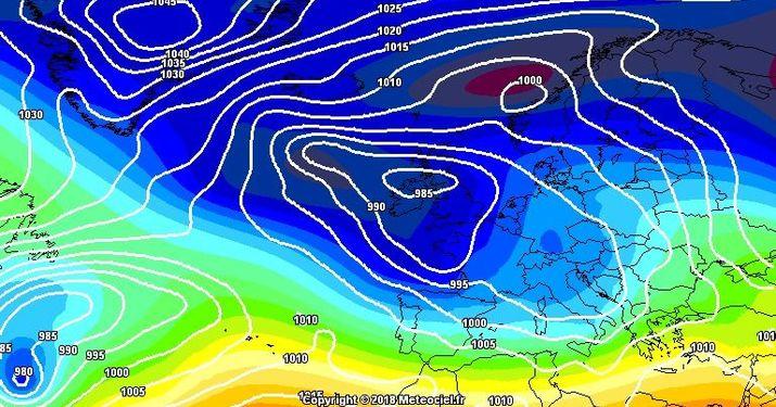 Previsiones del 6 al 9 de Marzo y tendencia fin de semana