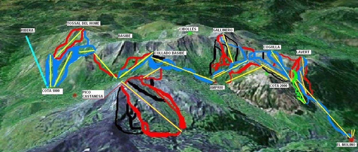 Aramón quiere reactivar la ampliación de Cerler por Castanesa