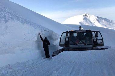 Boí Taull cierra un febrero de récord en esquiadores y con dos metros de nieve