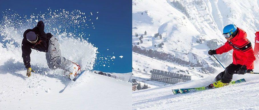 SORTEO de una noche de hotel, un día de esquí en Candanchú y otro en Astún
