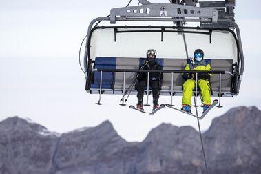 La temporada de esquí en Suiza no cerrará tan mal como se podría esperar