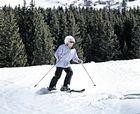 Deja de esquiar a los 102 años