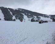 Les Angles afronta el final de temporada con medio metro de nieve polvo