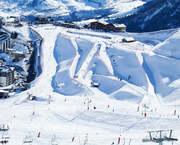 Ranking de estaciones 2016-2017 por días de esquí vendidos