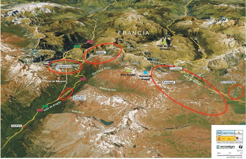 Plano proyecto Aragon Ski Circus