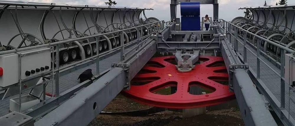Estación de esquí en Serbia construye el telecabina más largo del mundo