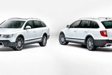 Skoda Superb Combi Outdoor