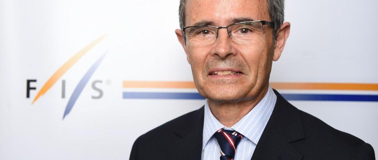 El español Eduardo Valenzuela se queda fuera del Consejo de la Federación Internacional de Esquí