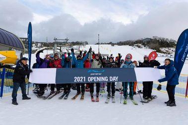 Australia ya ha abierto su temporada de esquí
