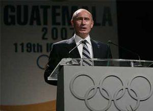 Vladimir Putin defendiendo a Sochi
