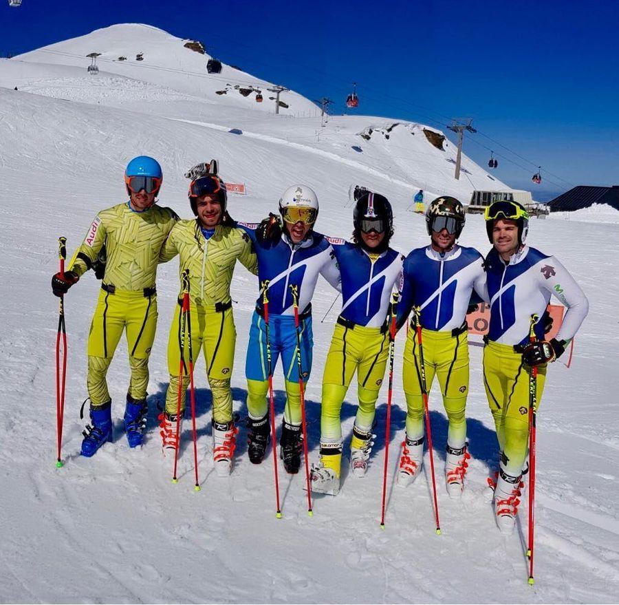Equipo esqui alpino RFEDI