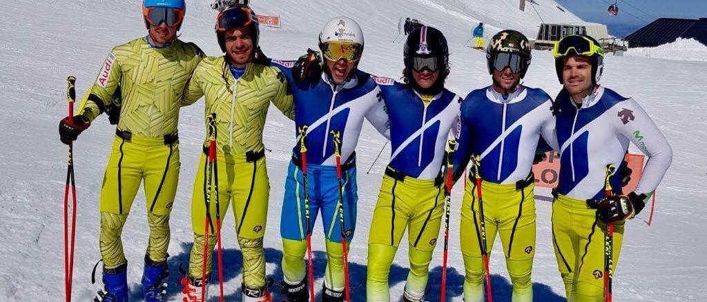 El equipo alpino de la RFEDI empieza a entrenar en la nieve