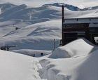 Se sigue acumulando: casi 3 mts. de nieve en Valle Nevado