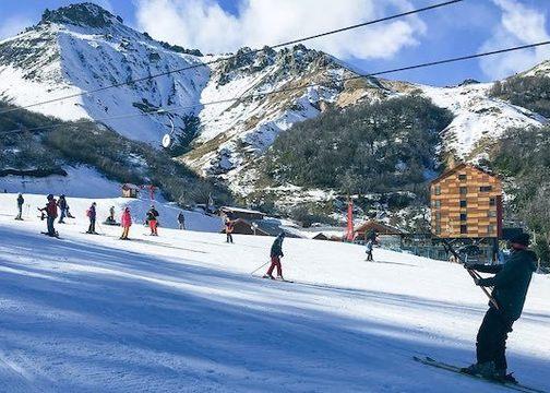 Primeros días de la temporada en Nevados de Chillán
