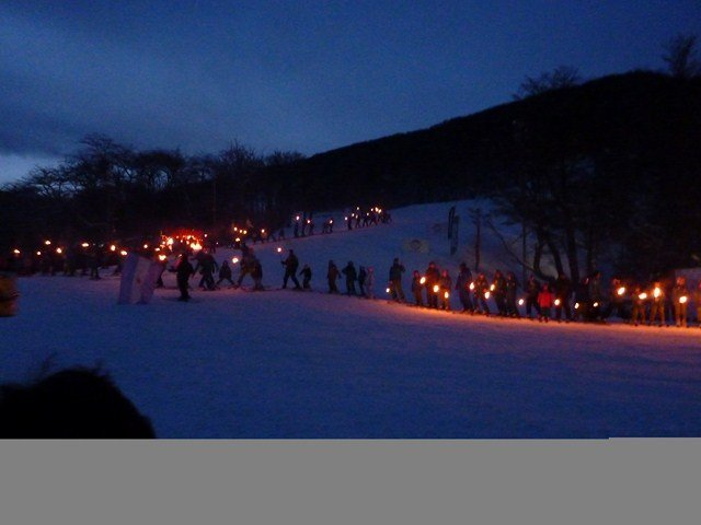 Ushuaia, postales de inicio de temporada