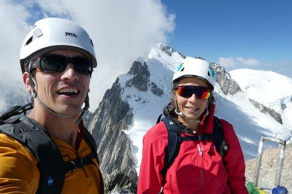 Mont Blanc de Tacul. Mi primer 4000