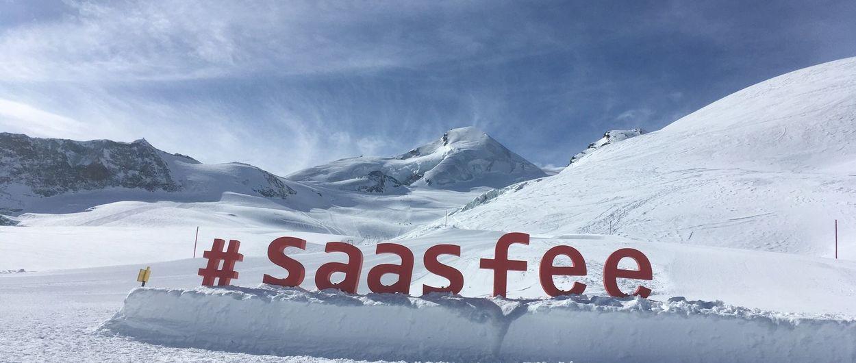 Saas-Fee, con garantía de nieve todo el año
