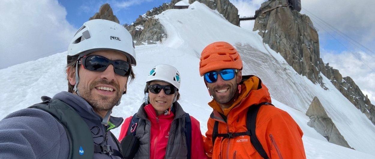 Objetivo Mont-Blanc, primer intento