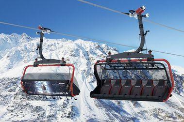 Gampenbahn E6: Ischgl monta el telesilla de 6 más caro de la historia