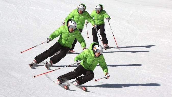 Fotomontajes de esquí para matar la espera...