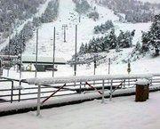 Primera nevada de la temporada!