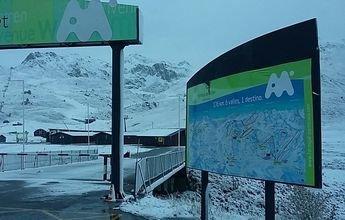 La nieve empieza a llegar a las estaciones de Aramón