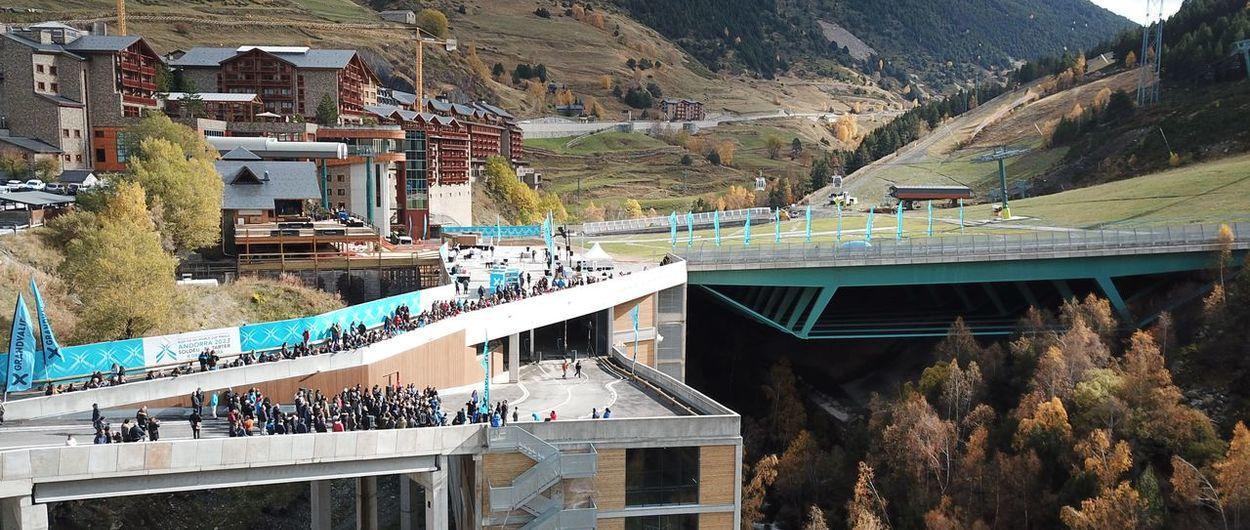 Grandvalira inaugura la plataforma esquiable de Soldeu