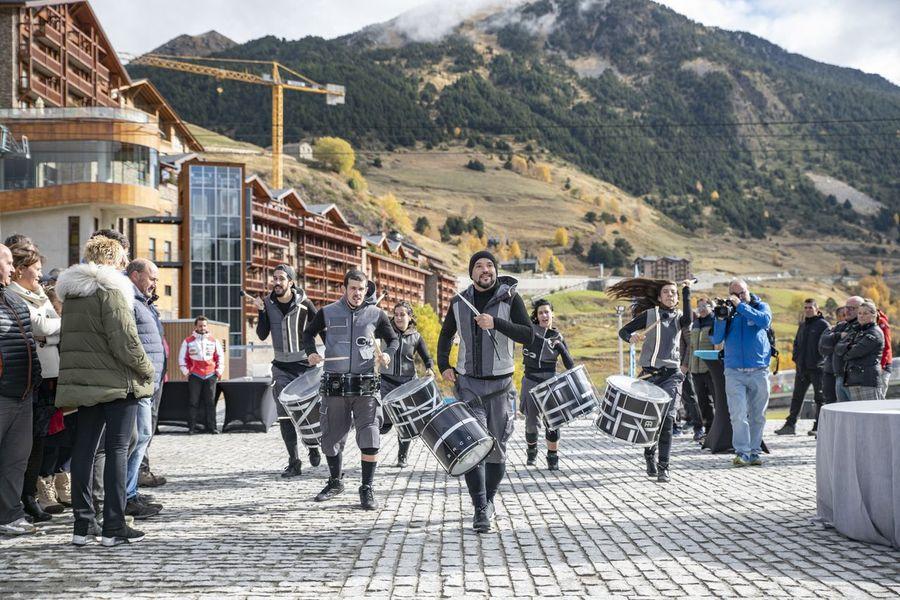 Inauguración plataforma esquiable de Soldeu