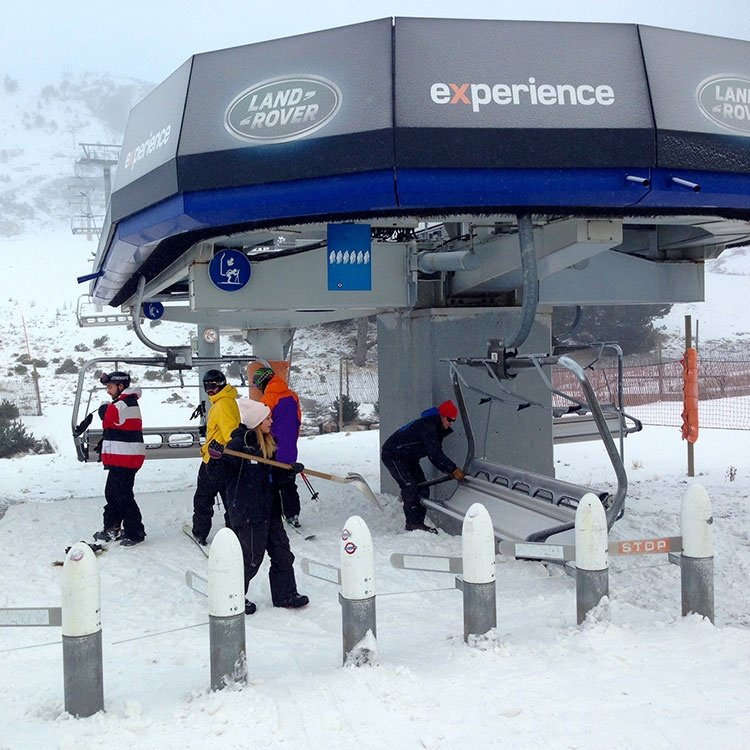 primer día de esquí en GrandValira