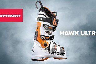 Las Atomic Hawx incorporan las botas ultra de horma estrecha