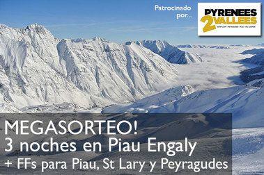 Sorteamos un fin de semana en Piau Engaly cortesía de Pyrennees2Vallees