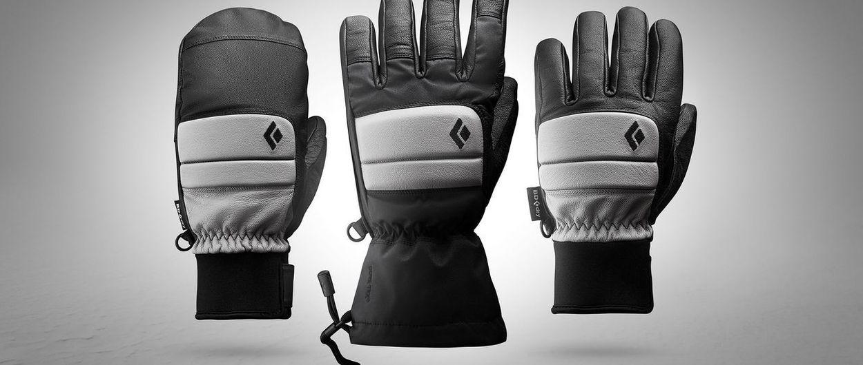 Black Diamond lanza una colección de más de 52 modelos de guantes