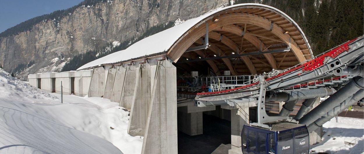Avoriaz y Morzine se unirán con un nuevo 3S y un pasaje subterráneo