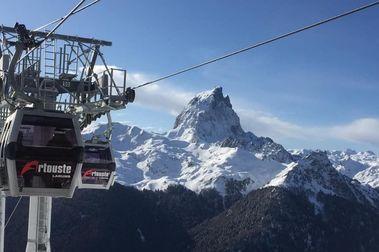 Artouste abre por primera vez pistas de esquí para el Puente de la Inmaculada