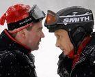 Vladimir Putin visita las obras de Sochi'14 en sus vacaciones de esquí