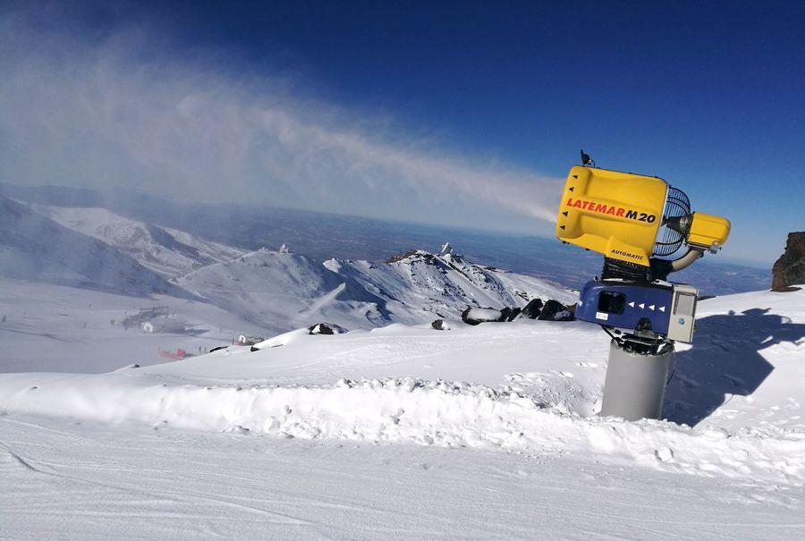 cañones en Sierra Nevada