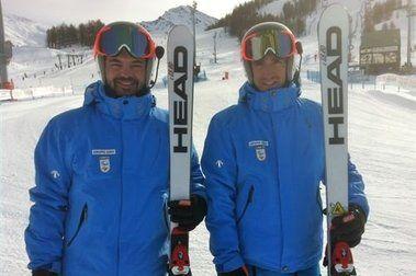 Santacana y Galindo en la Copa del Mundo Paralímpica de Winter Park