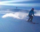 Sierra Nevada hace historia fabricando nieve en Marzo