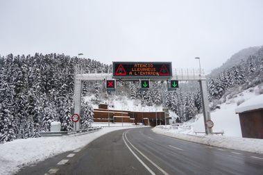 Fomento proyecta un acceso directo a Baqueira desde el túnel de Vielha