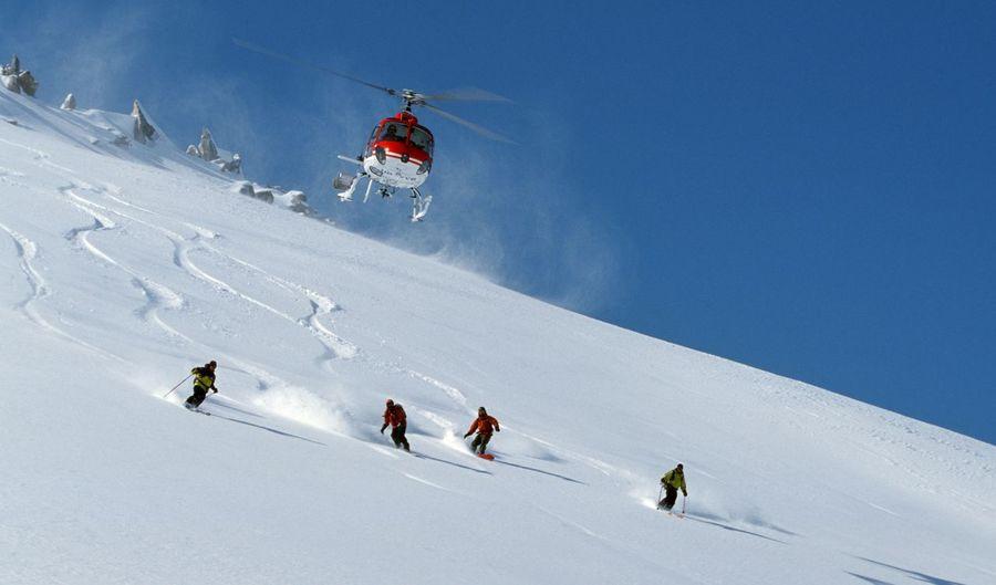 heli ski Pirineos