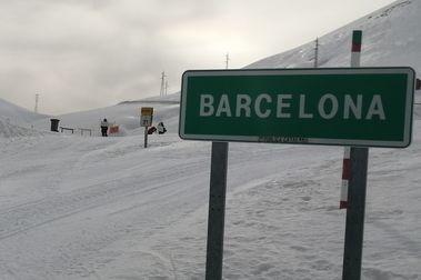Oposición ecologista a la habilitación de la pista de esquí Barcelona de La Molina