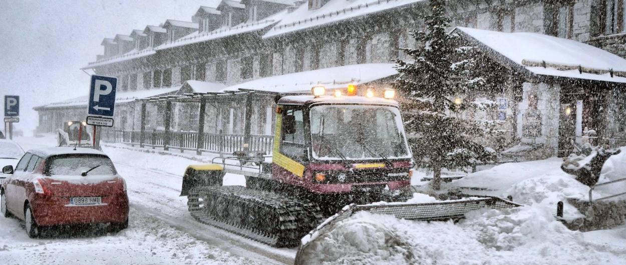 Emitidas alertas por nevadas intensas en varias zonas de España