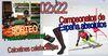 02x22 Calcetines calefactables, sorteo productos Gourmet, campeonato de España y más!!