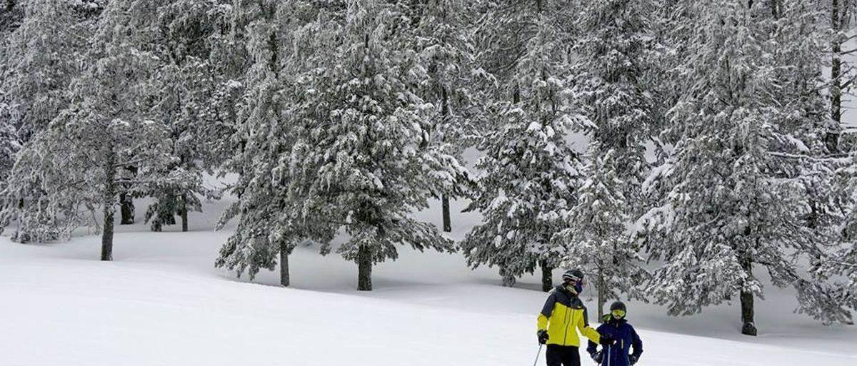 Las estaciones de la Generalitat se disparan en número de esquiadores