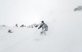 La nieve por fin vuelve al valle!